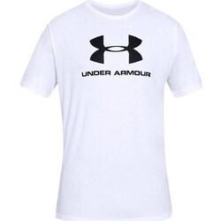 Odjeća Muškarci  Majice kratkih rukava Under Armour Sportstyle Logo Tee Bijela