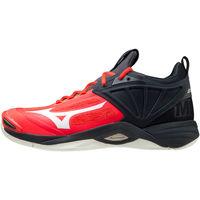 Obuća Muškarci  Multisport Mizuno Chaussures  Wave Momentum 2 rouge/blanc/noir