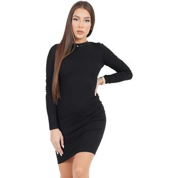 Odjeća Žene  Kratke haljine Sixth June Robe femme  Classique noir
