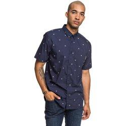 Odjeća Muškarci  Košulje dugih rukava DC Shoes Up Pill Short Sleeve Shirt Plava