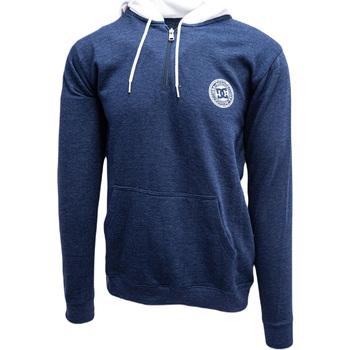 Odjeća Muškarci  Sportske majice DC Shoes Rebel Half-Zip Hoodie Plava