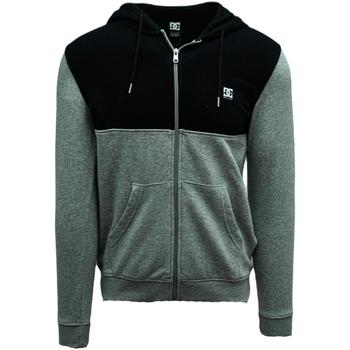 Odjeća Muškarci  Sportske majice DC Shoes Studley Zip-up Hoodie Siva
