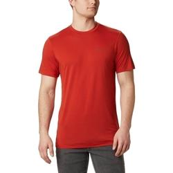 Odjeća Muškarci  Majice kratkih rukava Columbia Maxtrail Logo Crvena