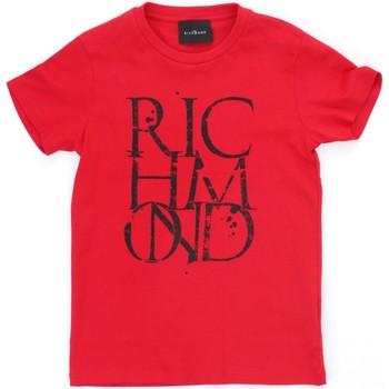 Odjeća Dječak  Majice kratkih rukava Richmond Kids RBP21038TS Red