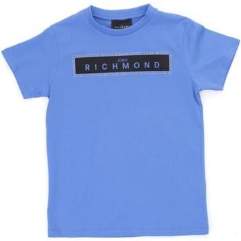 Odjeća Dječak  Majice kratkih rukava Richmond Kids RBP21030TS Light blue