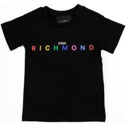 Odjeća Djevojčica Majice kratkih rukava Richmond Kids RGP21123TS Black