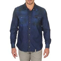 Odjeća Muškarci  Košulje dugih rukava Freeman T.Porter CORWEND DENIM Blue