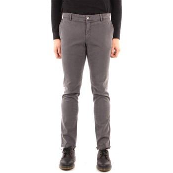 Odjeća Muškarci  Chino hlačei hlače mrkva kroja Powell CBE067 GREY