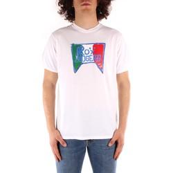 Odjeća Muškarci  Majice kratkih rukava Roy Rogers P21RRU513C7480013 WHITE
