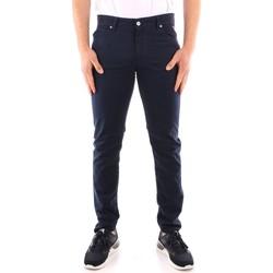 Odjeća Muškarci  Hlače od odijela Roy Rogers P21RRU089P3180112 NAVY BLUE