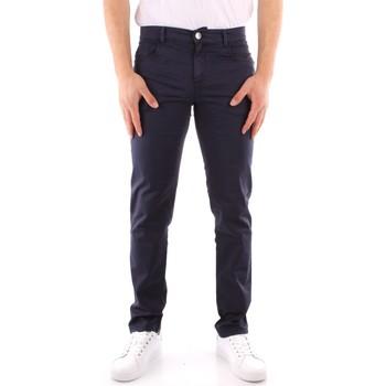 Odjeća Muškarci  Chino hlačei hlače mrkva kroja Trussardi 52J00007 1T005015 NAVY BLUE