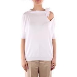 Odjeća Žene  Puloveri Friendly Sweater C210-653 WHITE
