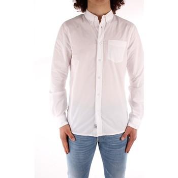 Odjeća Muškarci  Košulje dugih rukava Blauer 21SBLUS01223 WHITE