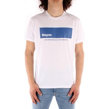 Odjeća Muškarci  Majice kratkih rukava Blauer 21SBLUH02132 WHITE