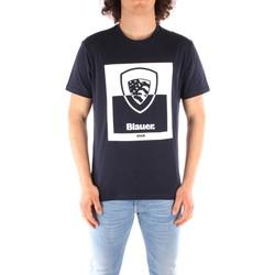 Odjeća Muškarci  Majice kratkih rukava Blauer 21SBLUH02131 BLUE