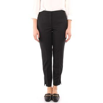 Odjeća Žene  Chino hlačei hlače mrkva kroja Marella FILM BLACK