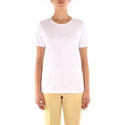 Odjeća Žene  Majice kratkih rukava Calvin Klein Jeans K20K202156 WHITE