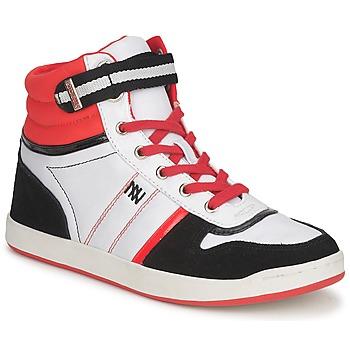 Obuća Žene  Visoke tenisice Dorotennis STREET LACETS Red / White / Black