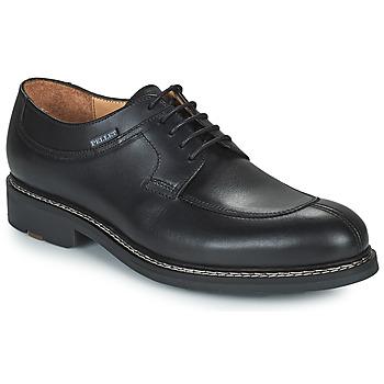 Obuća Muškarci  Derby cipele Pellet Magellan Crna