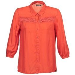 Odjeća Žene  Košulje dugih rukava Volcom KNOTTY Red