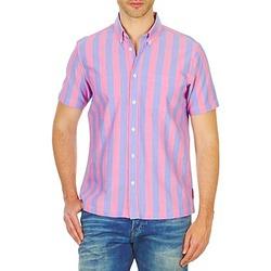 Odjeća Muškarci  Košulje kratkih rukava Ben Sherman BEMA00487S Ružičasta / Blue