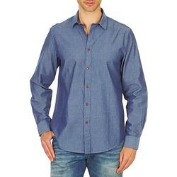 Odjeća Muškarci  Košulje dugih rukava Ben Sherman BEMA00490 Blue