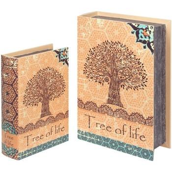 Dom Košare i kutije Signes Grimalt 2U Kutije s knjigama o životu na drvetu Naranja