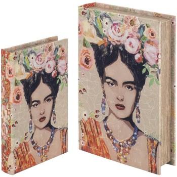 Dom Sanduci i kovčezi Signes Grimalt SET Iz 2 kutije za knjige SET 2U Naranja