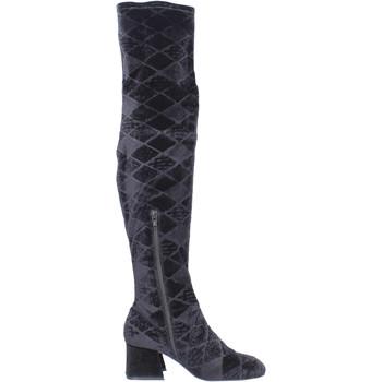 Obuća Žene  Čizme iznad koljena Apepazza BJ801 Crno