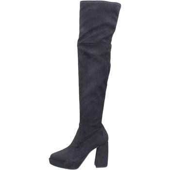 Obuća Žene  Čizme iznad koljena Elvio Zanon BJ810 Crna