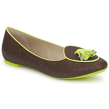 Obuća Žene  Balerinke i Mary Jane cipele Etro BALLERINE 3738 Smeđa