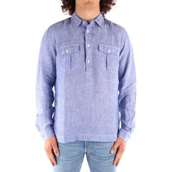 Odjeća Muškarci  Košulje dugih rukava Blauer 21SBLUS01216 BLUE