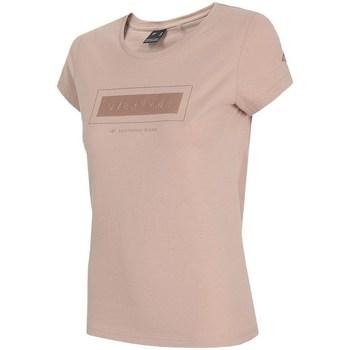 Odjeća Žene  Majice kratkih rukava 4F TSD034 Ružičasta