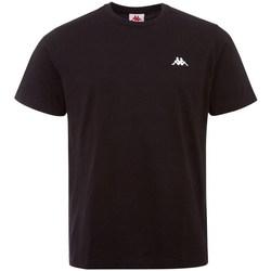 Odjeća Muškarci  Majice kratkih rukava Kappa Iljamor Crna