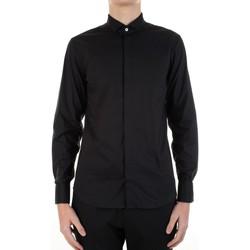 Odjeća Muškarci  Košulje dugih rukava Manuel Ritz 3030E652-213229 Nero