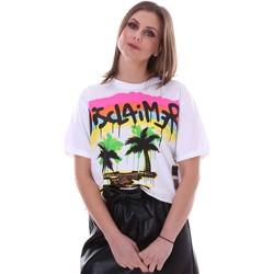 Odjeća Žene  Majice kratkih rukava Disclaimer 21EDS50632 Bijela