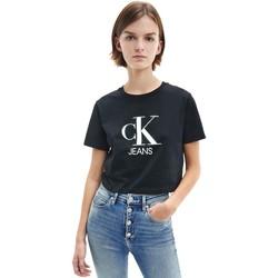 Odjeća Žene  Majice kratkih rukava Calvin Klein Jeans J20J215312 Crno