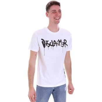 Odjeća Muškarci  Majice kratkih rukava Disclaimer 21EDS50565 Bijela