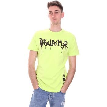 Odjeća Muškarci  Majice kratkih rukava Disclaimer 21EDS50565 Zelena