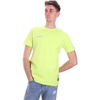 Odjeća Muškarci  Majice kratkih rukava Disclaimer 21EDS50517 Zelena