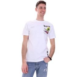 Odjeća Muškarci  Majice kratkih rukava Disclaimer 21EDS50522 Bijela