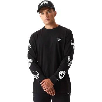 Odjeća Muškarci  Sportske majice New-Era 12553334 Crno