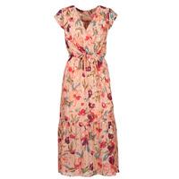 Odjeća Žene  Duge haljine Moony Mood OLICA Ružičasta / Multicolour