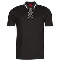 Odjeća Muškarci  Polo majice kratkih rukava HUGO DOLMAR Crna / Bijela