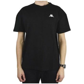 Odjeća Muškarci  Majice kratkih rukava Kappa Veer Tshirt Crna