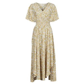 Odjeća Žene  Duge haljine Betty London ONINA Žuta / Bijela