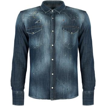 Odjeća Muškarci  Košulje dugih rukava Takeshy Kurosawa  Blue