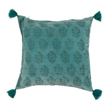 Dom Jastučnice Sema BAYLEEN Blue / Smaragdově zelený