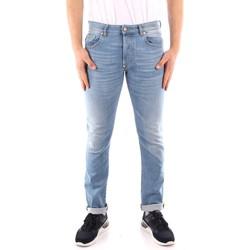 Odjeća Muškarci  Slim traperice Blauer 21SBLUP03402 BLUE