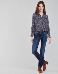 Odjeća Žene  Traperice ravnog kroja Pepe jeans NEW GEN Blue / Brut / Dh3